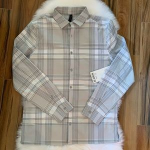 Masons peak flannel long sleeve button lululemon